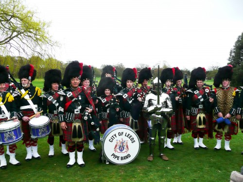 City of Leeds Pipe Band - St Georges Day