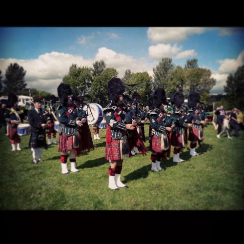 City of Leeds Pipeband at Otley