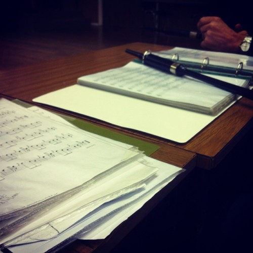 Practice Chanter and music