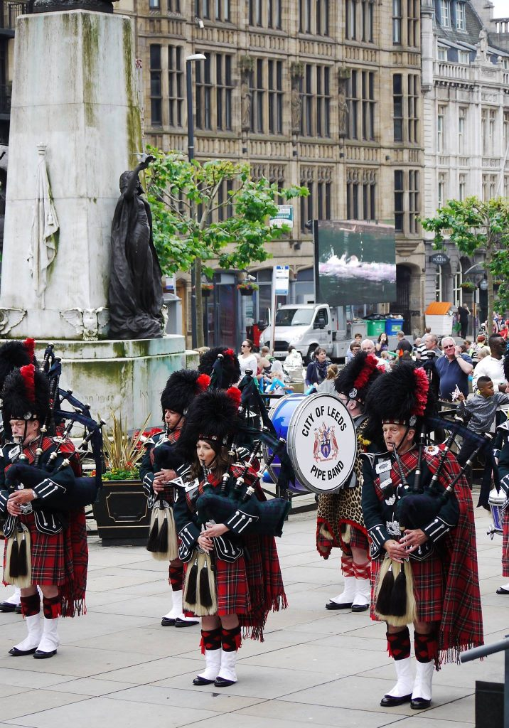 City of Leeds Pipe Band ITU Triathlon