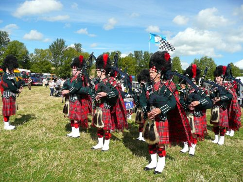 City of Leeds Pipe Band at OVTE