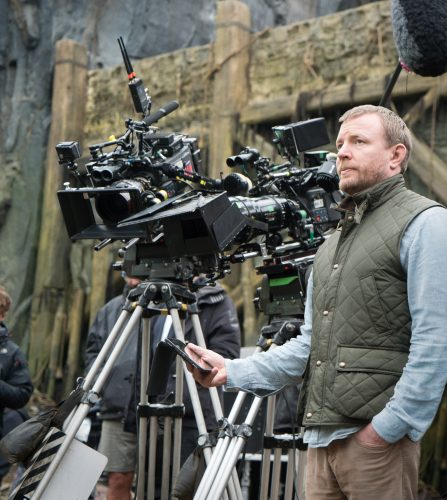 Director/screenwriter/producer GUY RITCHIE on the set of Warner Bros