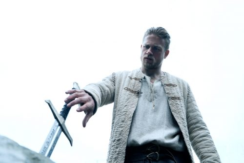 "CHARLIE HUNNAM as Arthur in Warner Bros. Pictures' and Village Roadshow Pictures' fantasy action adventure ""KING ARTHUR: LEGEND OF THE SWORD,"""