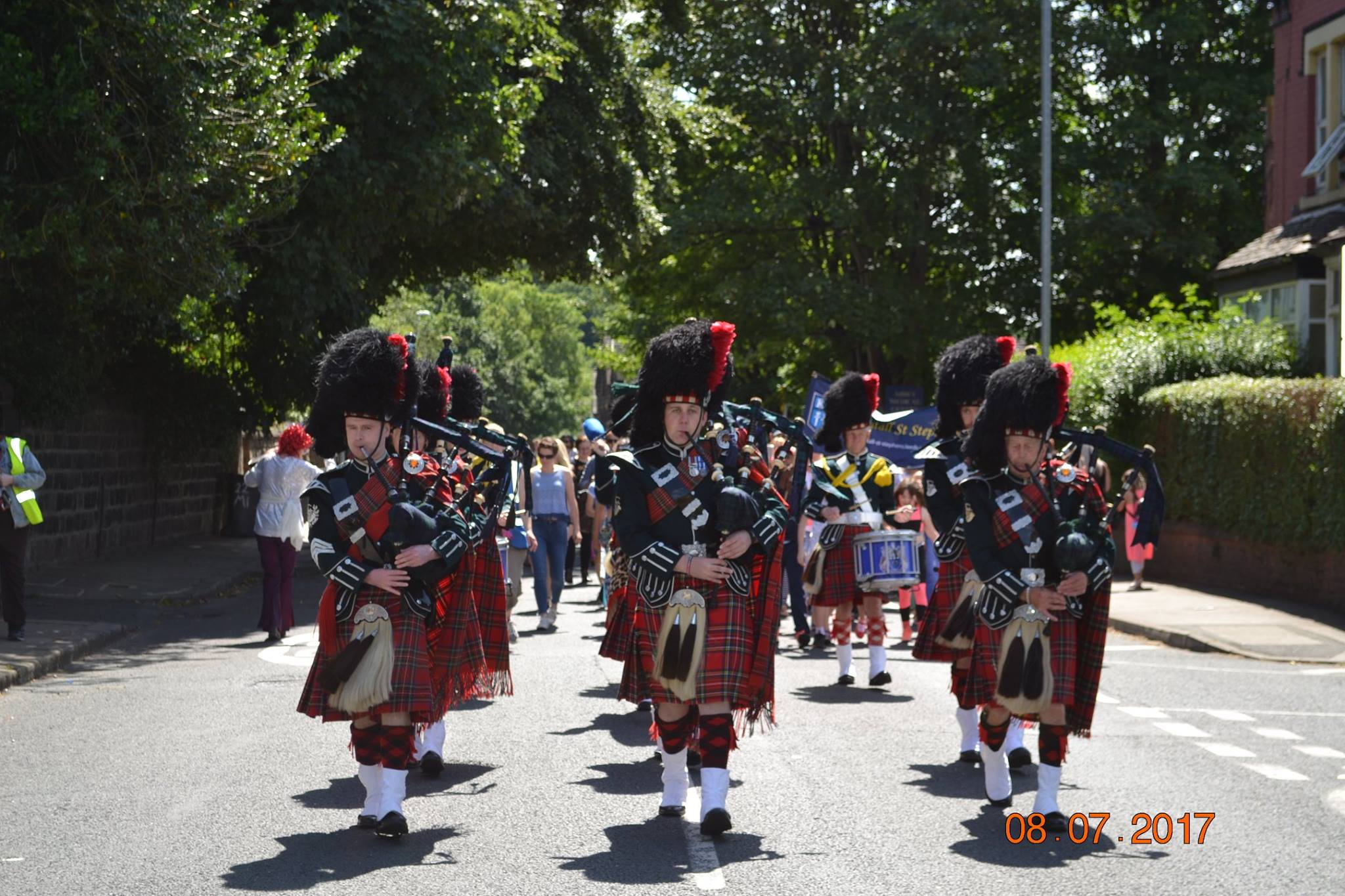 Band Tunes · The City of Leeds Pipeband