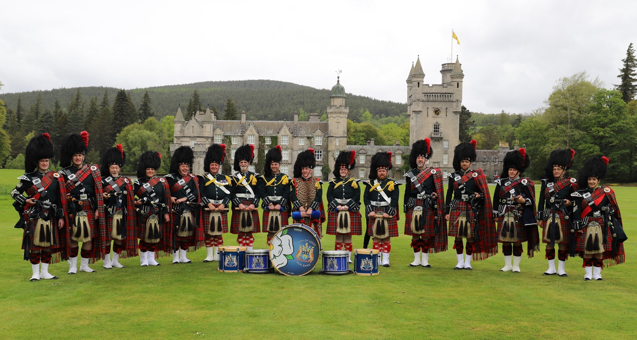 City of Leeds at Balmoral Castle